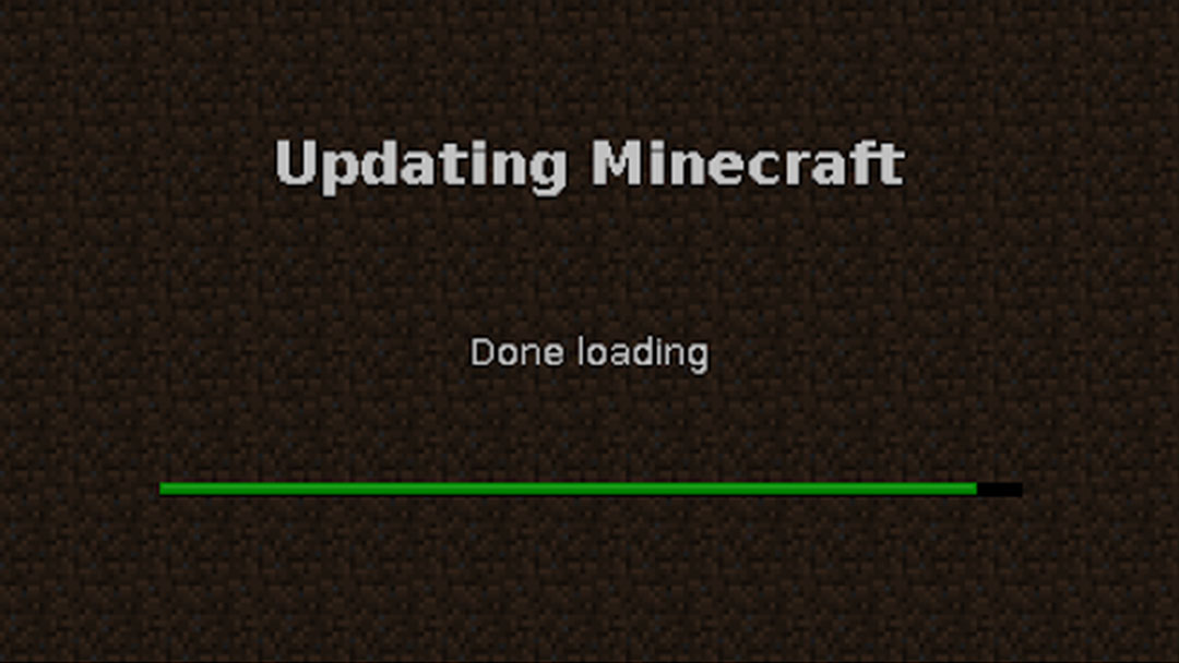 Done loading